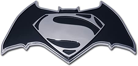 Elektroplate Batman v Superman Dawn of Justice Chrome Auto Emblem