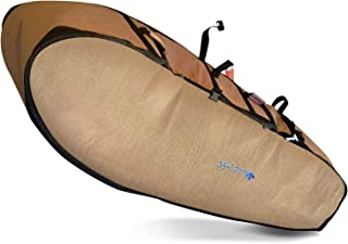 Wave Tribe Surf Bag Coffin ~ Made from Hemp, Fits 3-4 Surfboards. International Surfers Choice Award, Designed by California Surfers