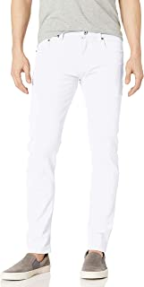 WT02 Men's Basic Color Twill Stretch Span Pants