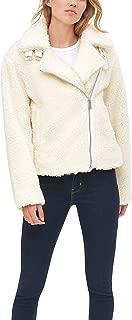 Women's The Megan Sherpa Asymmetrical Moto Jacket
