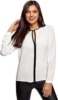17e2709f28b379 Amazon.it: tunica bianca - Bluse e camicie / T-shirt, top e bluse ...