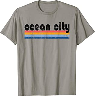 Vintage 80s Style Ocean City MD T-Shirt
