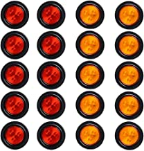 20X (10 RED + 10 AMBER) 4-LED 2.5