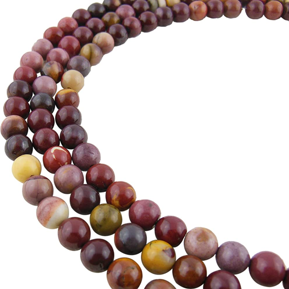 6MM Bloodstone Gemstone Gem Round Loose Stone Beads for Jewelry Making&DIY&Design (RS-1009-6)