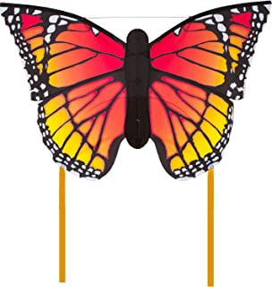 Hq Kites Monarch L Butterfly Kite, 51 Inch Single Line Kite with Tail