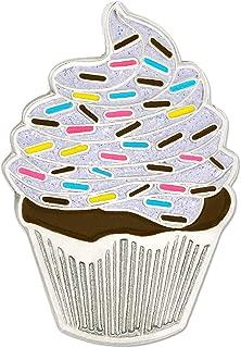 cake enamel pin