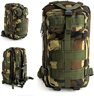 Mochila unisex impermeable de nailon militar táctica de gran capacidad 30 l al aire libre de viaje camping senderismo bolsa de supervivencia