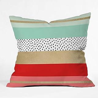 "Deny Designs Elisabeth Fredriksson Summer Fresh Indoor Throw Pillow, 16"" x 16"""