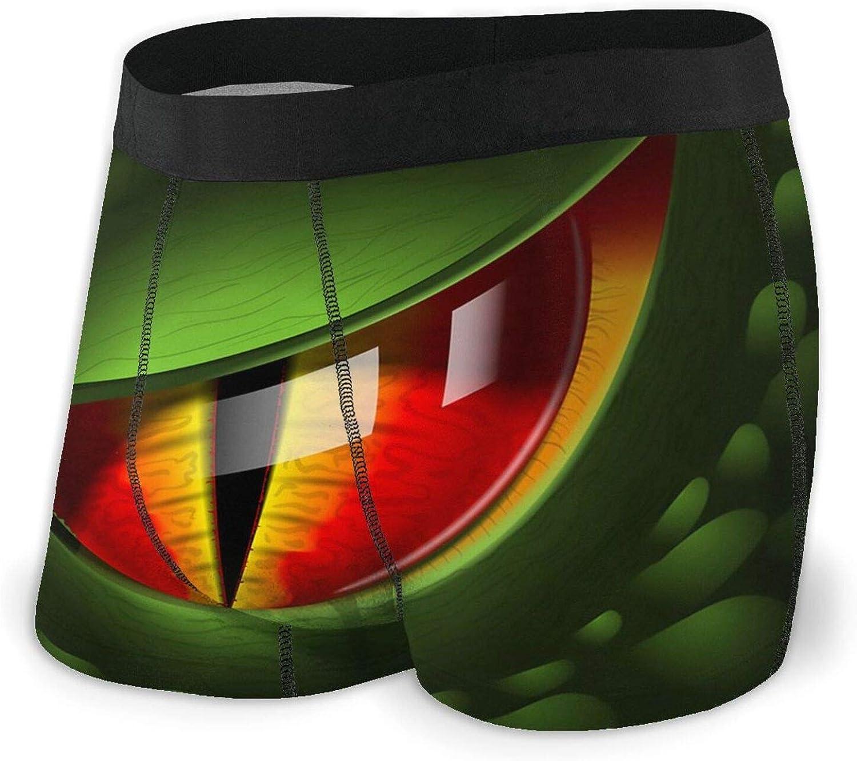 Dragon Eye Realistic 3D Men's Breathable Comfortabl In stock Briefs Dallas Mall Boxer
