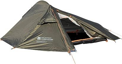 mountain warehouse 3 man tent