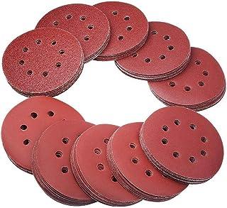 P120 Lepik Lot de 100 disques abrasifs Velcro pour ponceuse excentrique meuleuse dangle /Ø 150 mm sans trou