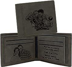 Portafoglio Personalizzato per gli uomini con la tua foto BIADESIVO