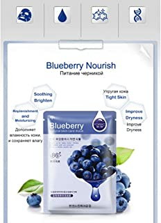 Yashvi Traders Blueberry Natural Skin Care Face Mask (5 Pieces)
