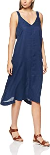 Jag Women's Linen Trapeze MIDI Dress