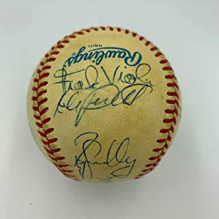 1987 twins team signed baseball
