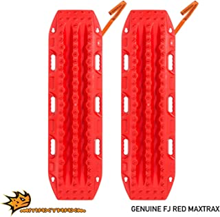 Maxtrax MKII Vehicle Recovery and Extraction Device for Stuck Vehicle, Red