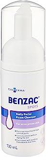 Benzac Daily Facial Foam Cleanser, 130ml