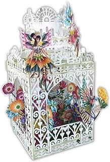 Paper D'Art 3D Pop Up Card Fairies Happy Birthday