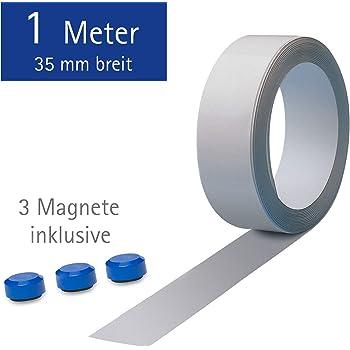 5 St/ück Magnetklebeband Magnetstreifen Magnetband Selbstklebend Magnetband Selbstklebend Stark Magnetstreifen Selbstklebend Stark Selbstklebende Magnetstreifen
