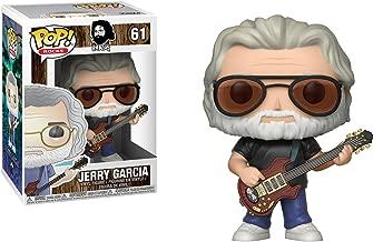 Funko Jerry Garcia POP! Rocks Vinyl Figure + 1 Music Themed Trading Card Bundle [#061]