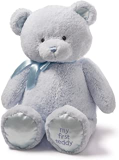 Baby GUND My First Teddy Bear Jumbo Stuffed Animal Plush, Blue, 36