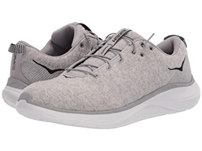 Hoka One One Hupana Flow Wool (Lunar Rock/Drizzle) Men