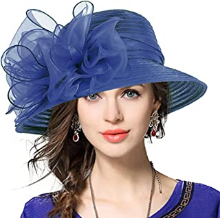 Best ladies royal blue church hats Reviews