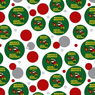 GRAPHICS & MORE Hippity Hoppity Abolish Private Property Communist Toad Funny Humor Premium Gift Wrap Wrapping Paper Roll