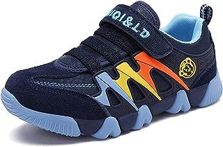 Chaussures de Tennis Garçon Fille Chaussure de Course Sports Mode Basket Sneakers Running Compétition Entraînement pour En...