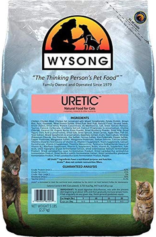Wysong Uretic - Dry Regular dealer for Cats Natural Award-winning store Food