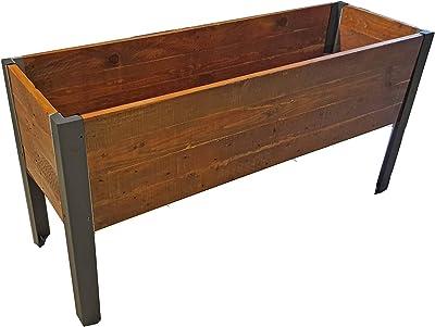 Grapevine 11996LU MO Wood Tall Recycled Planter Box