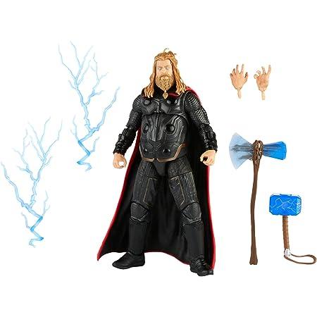 Marvel Hasbro Legends Series Figura de acción de Escala de 6.0 in Thor, Personaje Infinity Saga, diseño Premium, Figura y 5 Accesorios