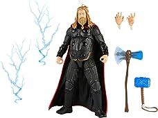 Marvel Hasbro Legends Series Figura de acción de Escala de 6.0 in Thor, Personaje Infinity Saga, dise?o Premium, Figura y 5 Accesorios