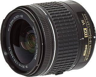 Nikon AF-P DX NIKKOR 18-55mm f/3.5-5.6G VR Lens - 18-55VR Black