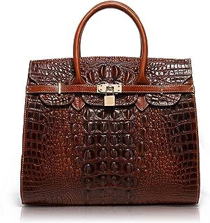 Designer Unique Embossed Floral Header Layer Cowhide Tote Style Ladies Top Handle Bags Handbags 22130