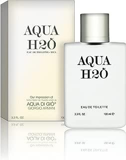 Recaro North - Aqua H2O - Eau De Toilette - Impression of Aqua Di Gio, 3.3 fl oz