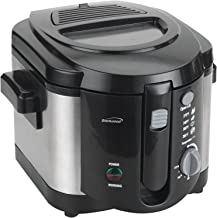 Brentwood DF-720 Electric Deep Fryer 1200-Watt, 8-Cup, Stainless Steel