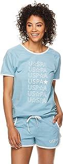 U.S. Polo Assn. Womens Short Sleeve Shirt and Lounge...