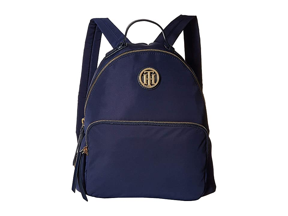 Tommy Hilfiger Ivy Dome Backpack (Tommy Navy) Backpack Bags
