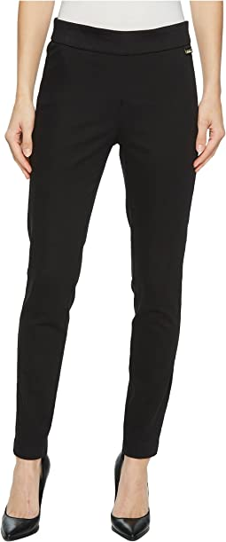 Calvin Klein - Cropped Leg Pull-On Pants