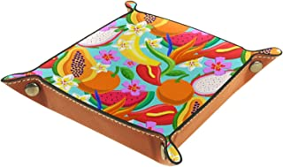 Tray Organizer Jewelry Storage for Men Women,Tray Desktop Nightstand Dresser Vanity Tray Box Catchall Tray,Office Key Wall...