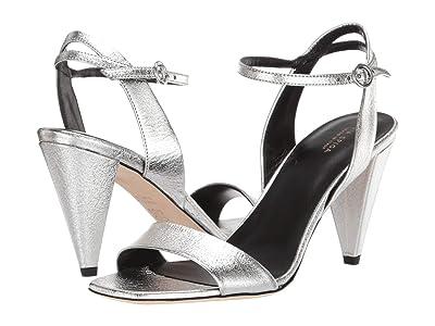 Via Spiga Ria (Silver Nugget Metallic Leather) High Heels