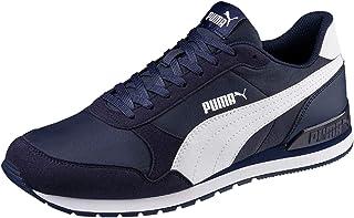 PUMA St Runner V2 NL, Baskets Mixte Adulte - Bleu (Peacoat-PUMA White), 44.5 EU - 10 UK
