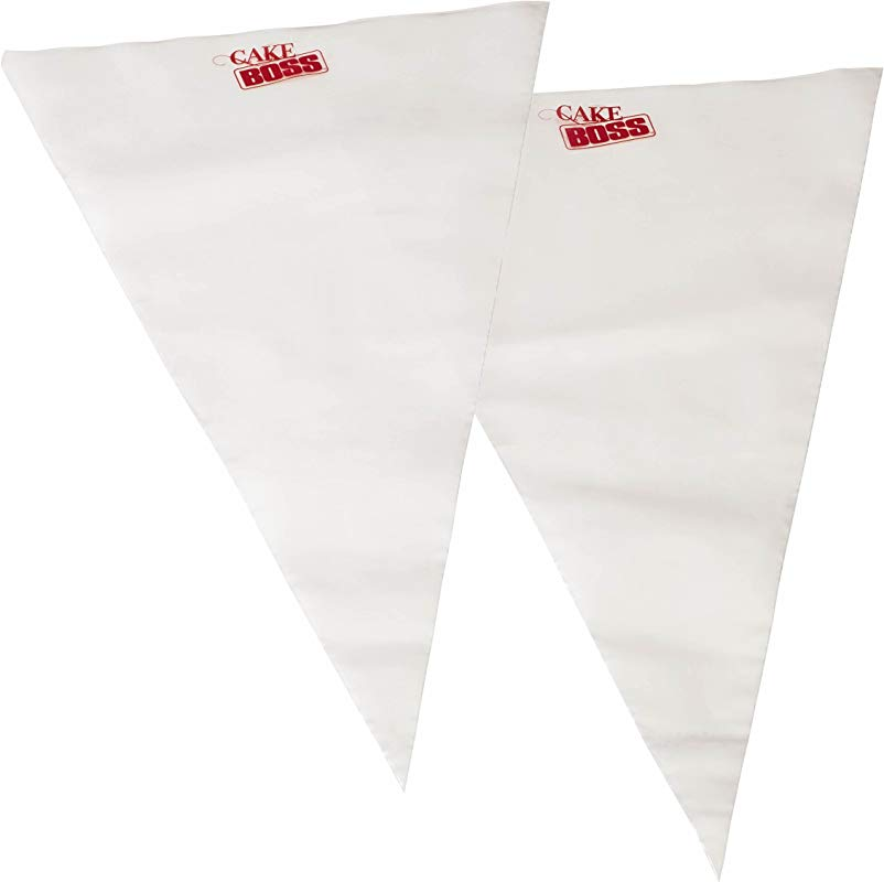 Cake Boss Decorating Tools 18 Inch Disposable Icing Duo Decorating Bags 25 Count