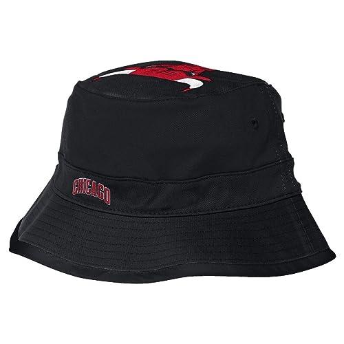 adidas Chicago Bulls NBA Big Top Logo Bucket Hat 72350e05113f