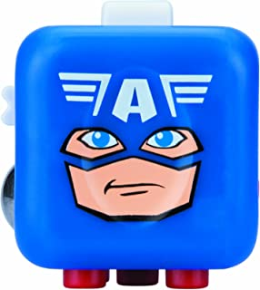 Antsy Labs Marvel Character Fidget Cube Captain America Design - Six Functional Sides w/ Anxiety Relief Stone …