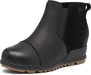 Women's Evie Pull-On Bootie — Waterproof Suede Leather —...