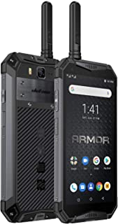 Ulefone Armor 3WT携帯電話は取り外しができません。Android 9.0 Octa-Core、5.7インチスクリーン、6G+64G Dual Sim(nano、smartphone p 68 powerbank 10300 ma...