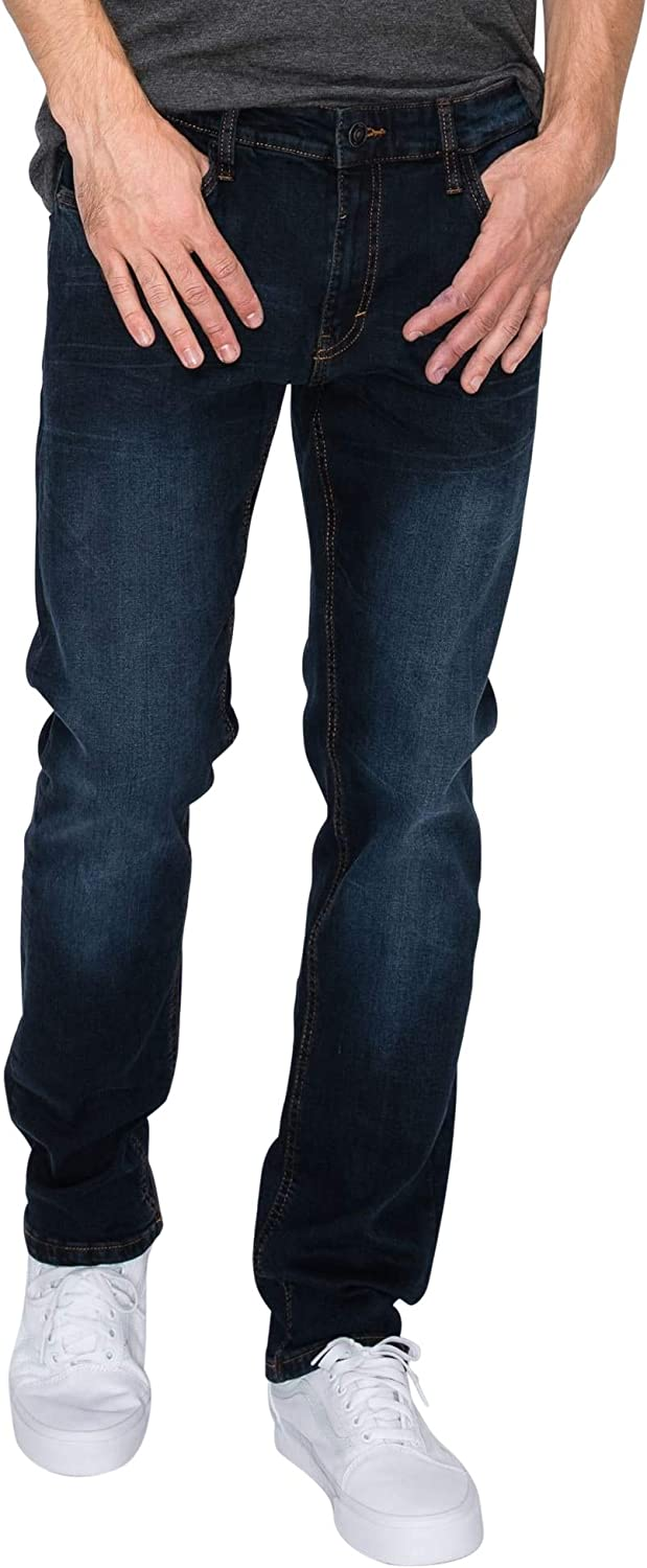 RING New Orleans Mall OF FIRE Men's 5 Denim Slim Stretch Max 42% OFF Jeans Pockets