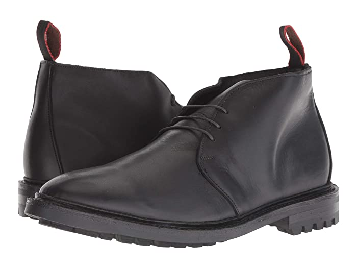 Allen Edmonds  Surrey Chukka (Black) Mens Pull-on Boots
